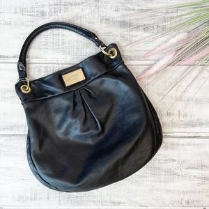 Marc By Marc Jacobs Black Pebbled Leather Bag
